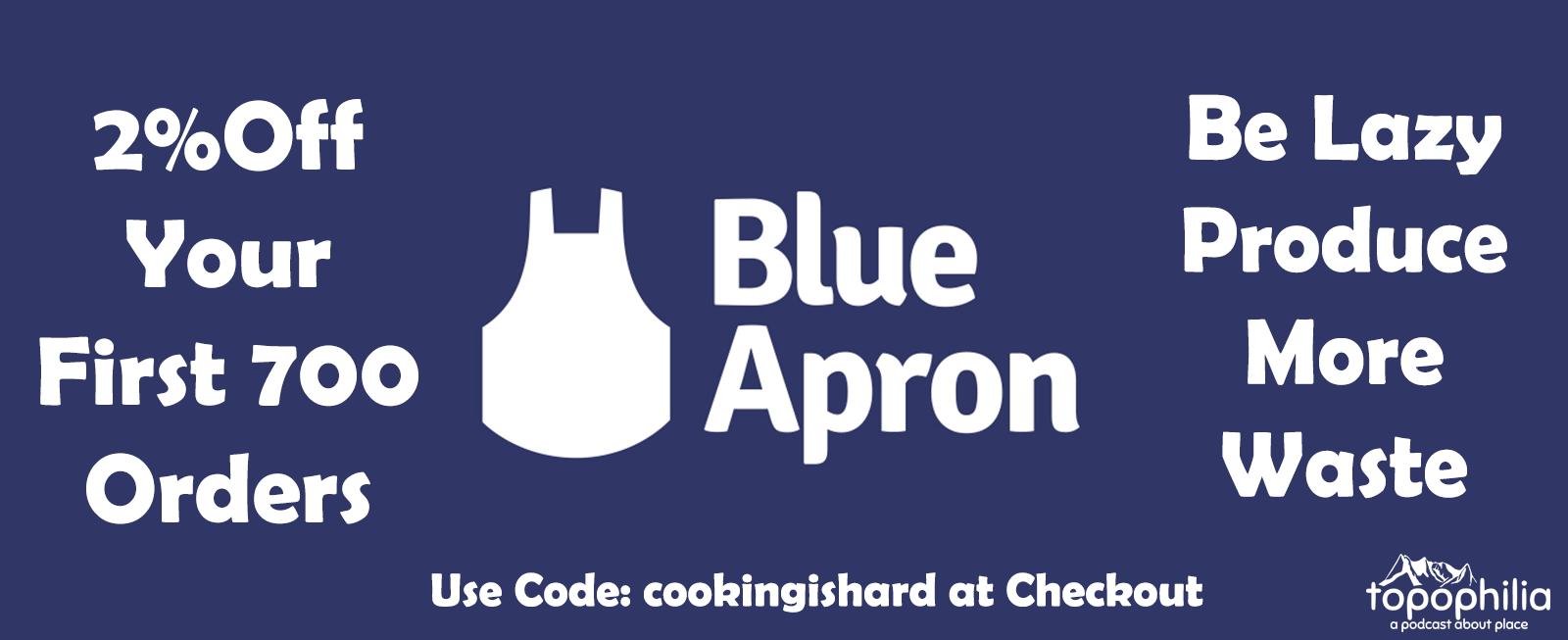 Thanks to Blue Apron!